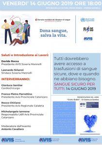 festa mondiale del donatore SM