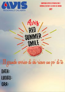 red summer smile 2019